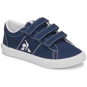 Schuhe Kinder Sneaker Low Le Coq Sportif VERDON PLUS PS Blau