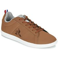 Schuhe Sneaker Low Le Coq Sportif COURTCLASSIC GS Braun
