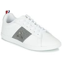 Schuhe Sneaker Low Le Coq Sportif COURTCLASSIC GS Weiss