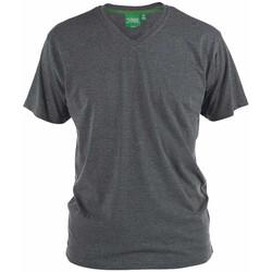 Kleidung Herren T-Shirts Duke Signature-2 Anthrazit meliert