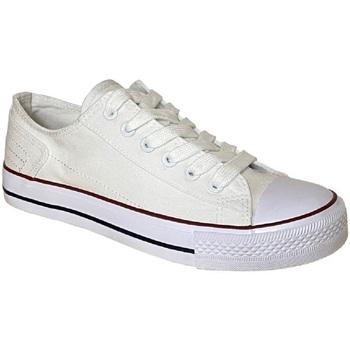 Schuhe Damen Sneaker Dek  Weiß