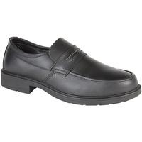 Schuhe Herren Slipper Grafters  Schwarz