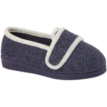 Schuhe Damen Hausschuhe Comfylux  Marineblau