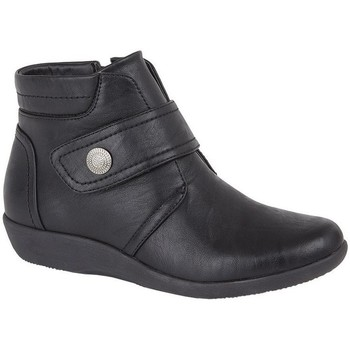 Schuhe Damen Low Boots Boulevard  Schwarz
