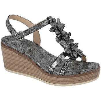 Schuhe Damen Sandalen / Sandaletten Cipriata  Grau