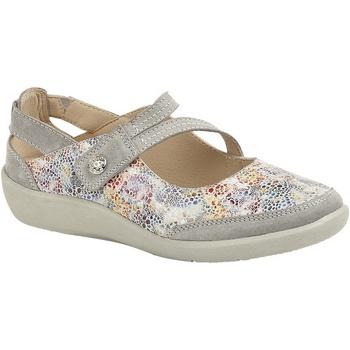 Schuhe Damen Ballerinas Boulevard  Grau