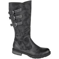 Schuhe Damen Klassische Stiefel Cipriata  Schwarz