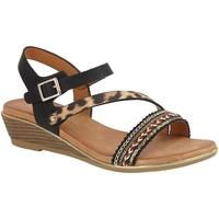 Schuhe Damen Sandalen / Sandaletten Cipriata  Schwarz