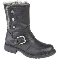Schuhe Damen Schneestiefel Cipriata  Schwarz