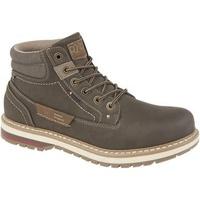 Schuhe Damen Low Boots Route 21  Dunkelbraun