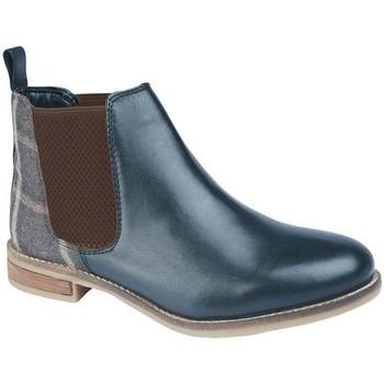 Schuhe Damen Low Boots Cipriata  Marineblau