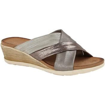 Schuhe Damen Pantoffel Cipriata  Multicolor