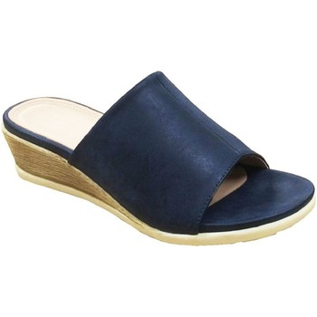 Schuhe Damen Pantoffel Cipriata  Marineblau