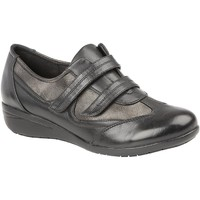 Schuhe Damen Sneaker Low Boulevard  Schwarz/Zinn