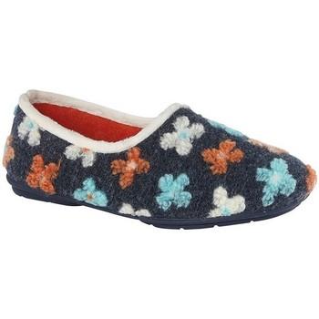 Schuhe Damen Hausschuhe Sleepers  Grau