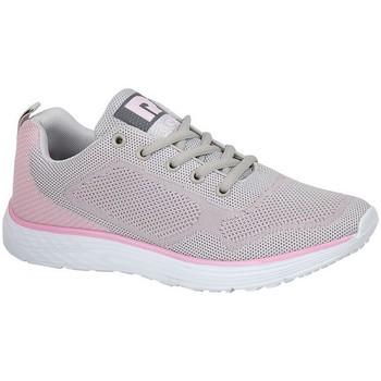 Schuhe Damen Sneaker Low Dek  Grau/Blassrosa