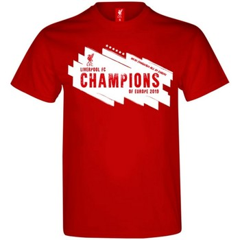 Kleidung Herren T-Shirts Liverpool Fc  Rot