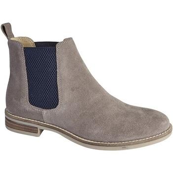 Schuhe Damen Low Boots Cipriata  Nerz/Marineblau