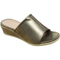 Schuhe Damen Pantoffel Cipriata  Gold