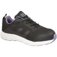 Schuhe Damen Sneaker Low Grafters  Schwarz/Lila