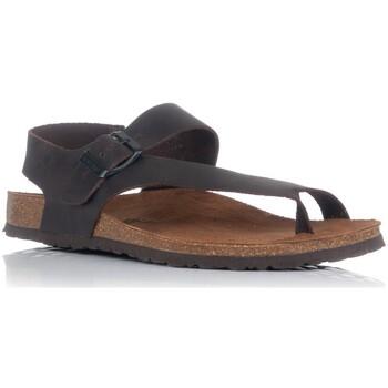 Schuhe Herren Sandalen / Sandaletten Interbios 9512 Braun