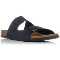 Schuhe Herren Pantoffel Interbios 9560 Schwarz