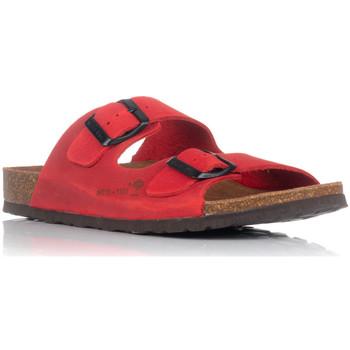 Schuhe Damen Pantoffel Interbios 7206 Rot