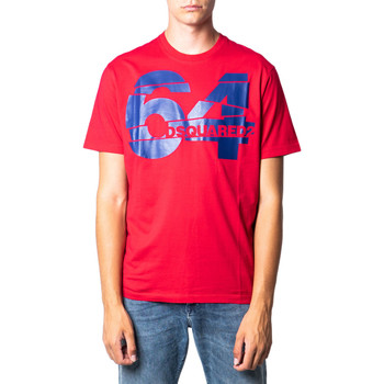 Kleidung Herren T-Shirts Dsquared S71GD0764 Rosso