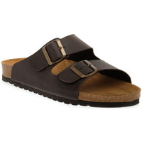 Schuhe Damen Pantoffel Bioline MORO PREMIER Marrone