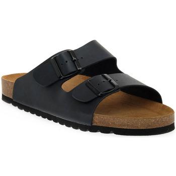 Schuhe Damen Pantoffel Bioline BLU PREMIER Blu