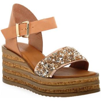Schuhe Damen Sandalen / Sandaletten Sono Italiana VACCHETTA GLITTER Grigio