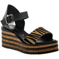 Schuhe Damen Sandalen / Sandaletten Sono Italiana CRAST NERO Nero