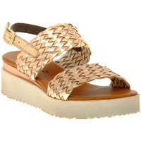 Schuhe Damen Sandalen / Sandaletten Sono Italiana LAMINATO RAME Marrone