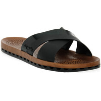Schuhe Damen Pantoffel Sensi 001 AMALFI BIANCO Nero