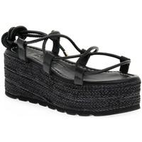 Schuhe Damen Sandalen / Sandaletten Vienty NOX NERO Nero