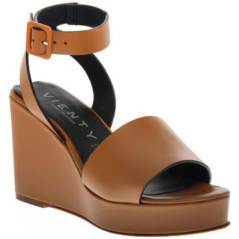 Schuhe Damen Sandalen / Sandaletten Vienty CUERO NOX Marrone