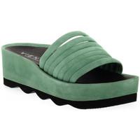 Schuhe Damen Pantoffel Vienty RUBI ANTE Rosso