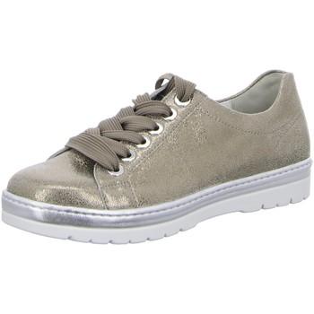 Schuhe Damen Sneaker Low Semler Schnuerschuhe Ruby R8015-034-028-ruby gold