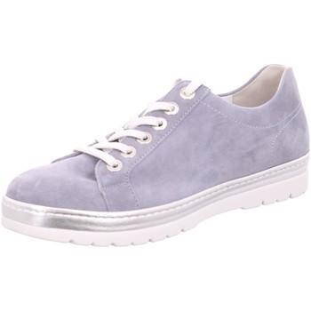 Schuhe Damen Sneaker Low Semler Schnuerschuhe R8015 R8015042076 blau