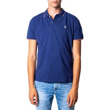 Kleidung Herren Polohemden U.S Polo Assn. 41029 Blue Denim