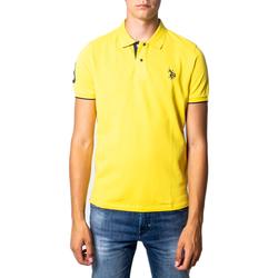 Kleidung Herren Polohemden U.S Polo Assn. 41029 Giallo