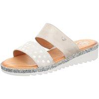 Schuhe Damen Pantoffel Black Pantoletten - Pantolette 272216405 beige