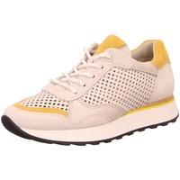 Schuhe Damen Sneaker Low Paul Green Schnuerschuhe P.Green Sportschuh 4995-016 weiß