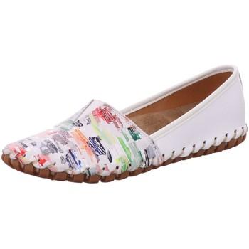 Schuhe Damen Sneaker Low Gemini Slipper 031203-19/199 weiß