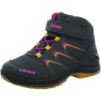 Schuhe Mädchen Wanderschuhe Lowa Bergschuhe MADDOX GTX MID JUNIOR,GRAPHIT/MANDA 340123 9792 grau