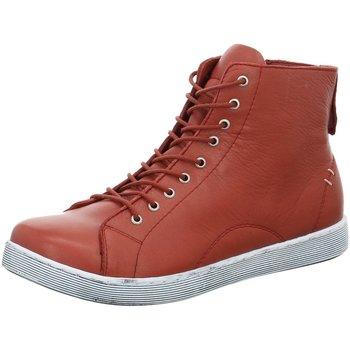 Schuhe Damen Sneaker High Andrea Conti Komfort 0341500770 0341500770 rosenholz Other