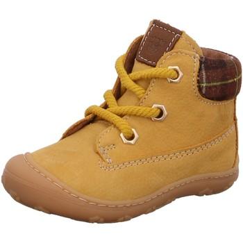 Schuhe Mädchen Boots Ricosta Schnuerschuhe TERRY 72 1223300/762 gelb
