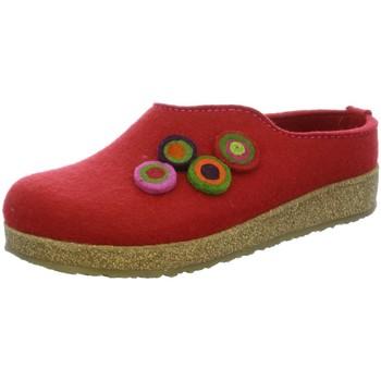Schuhe Damen Hausschuhe Haflinger KUNON RUBIN, 731023-11 rot