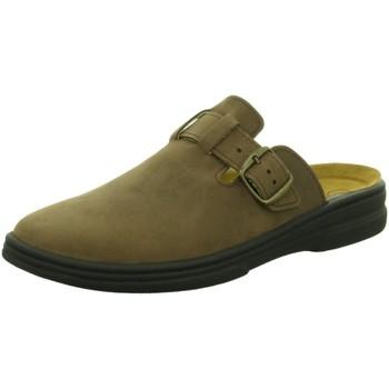 Schuhe Herren Pantoletten / Clogs Algemare Offene 3261-SANSEBAR 7990-3261 braun