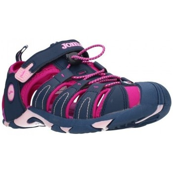 Schuhe Mädchen Sportliche Sandalen Joma 2003 Navy Purple Niña Azul marino bleu